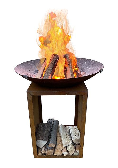 Feuerschale mit Gestell PLUTO Ø 85 cm