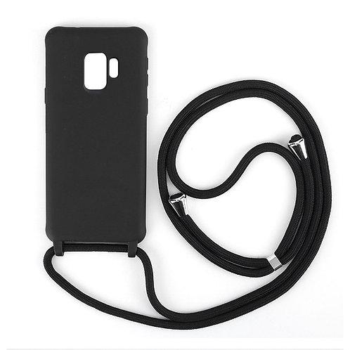 Handyhülle mit Band Samsung S9 schwarz