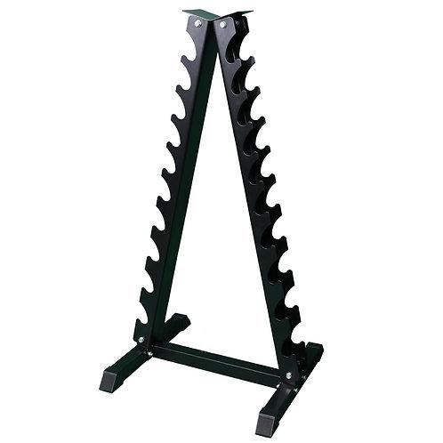 Hantelständer für Kurzhanteln ROCK Chrom 1-10 kg