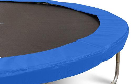 Federabdeckung für 4.3 m Trampolin blau