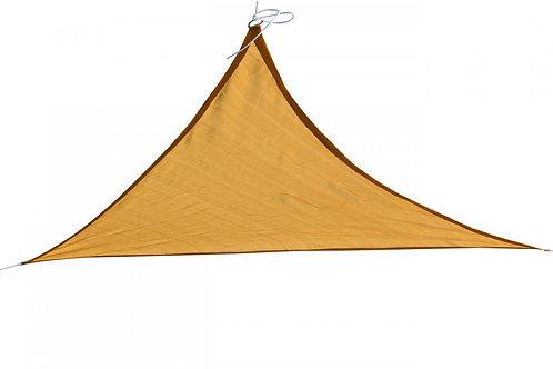 Sonnensegel Dreieck 4.2 x 4.2 x 6 m beige
