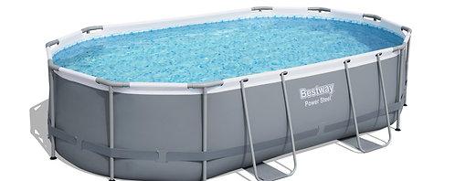 Bestway Pool Komplett-Set 457 x 107 cm