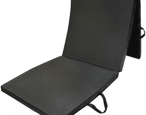 Gymnastikmatte faltbar schwarz