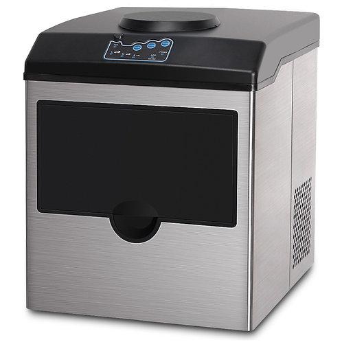 Eiswürfelmaschine silber 22 kg / 24 h