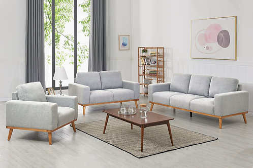 Sofa Set AMOR grau