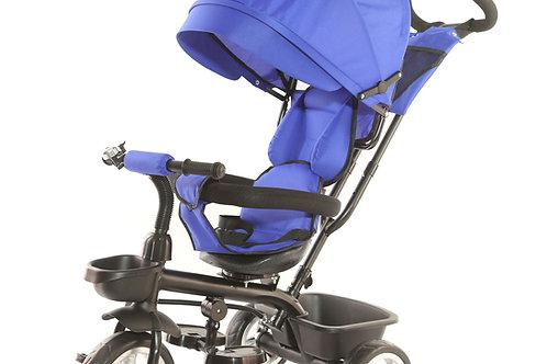 Dreirad Kinderwagen YUKI 2-in-1 dunkelblau