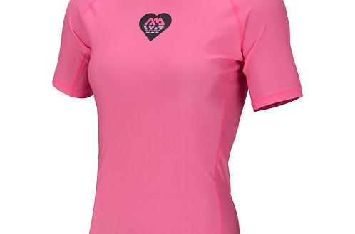 Rashguard Damen ALLUV pink Gr. L