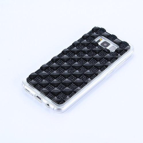 Handyhülle Diamant schwarz für Samsung Galaxy S8