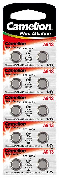 Camelion Alkaline AG13 Knopfzellen Batterien 10 Stk.