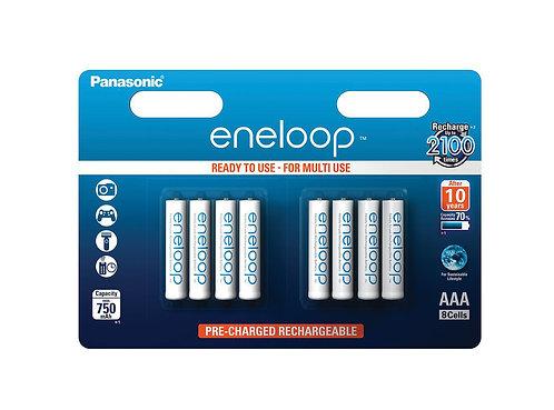 Panasonic eneloop AAA Batterien 8 Stk.