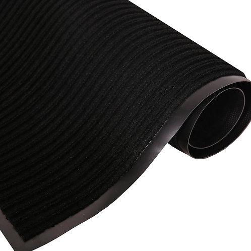 Fussmatte 60 x 90 cm schwarz