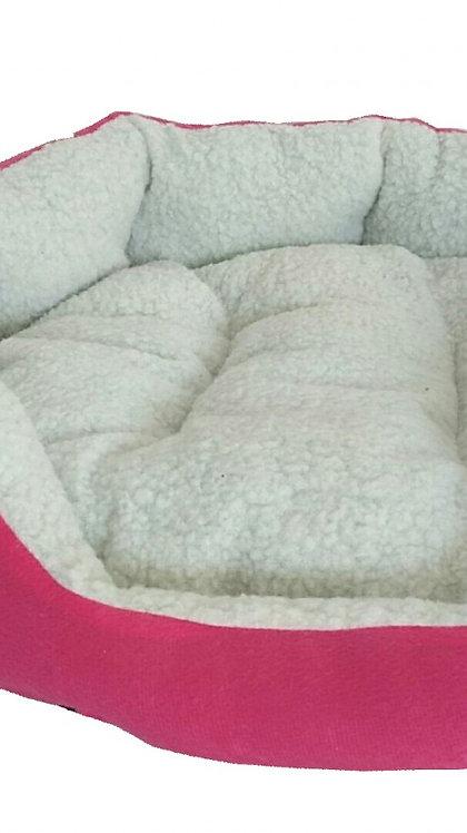 Hundebett LUCKY pink