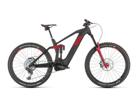 Cube Stereo Hybrid 160 HPC SLT 625 27.5 carbon´n´red E-Bike Fully