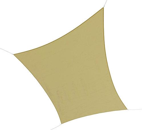 Sonnensegel Polyester 4x6m beige
