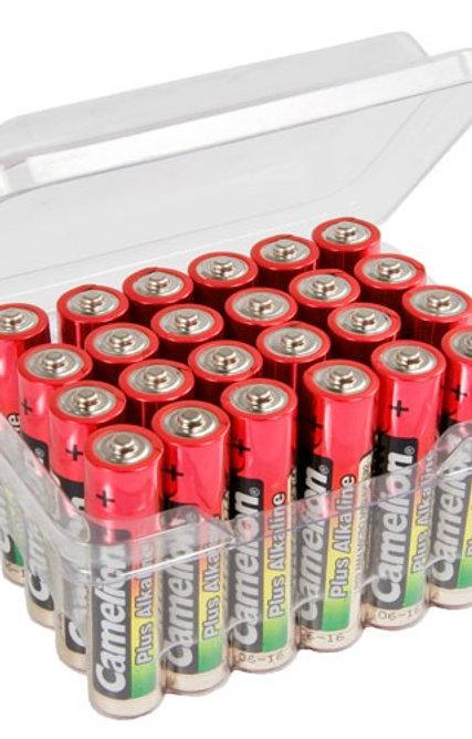 Camelion Plus Alkaline AAA MN2400 / LR03 Batterien 24 Stk.