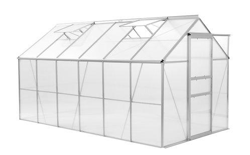 Gewächshaus 375 x 190 x 195 cm