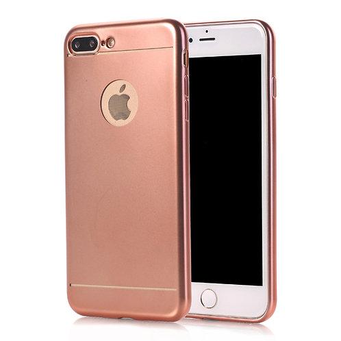 Handyhülle für iPhone 7 Plus gold/rosa