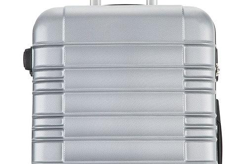 Reisekoffer Handgepäck Grösse M silber