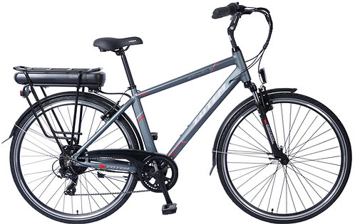 E-Bike City 47 cm PRIVILEGE grau
