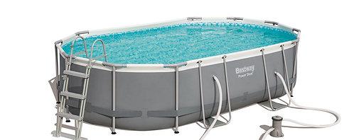 Bestway Swimming Pool Komplett-Set 488 x 305 x 107 cm