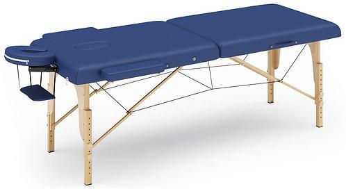 Massageliege 2-Zonen blau
