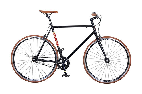 Fixie Bike 57 cm URBAN BROWN