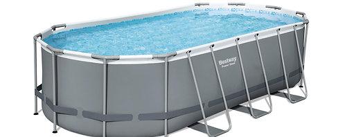 Bestway Pool Komplett-Set 549 x 274 x 122 cm
