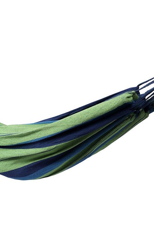 Hängematte 210 x 150 cm blau/grün