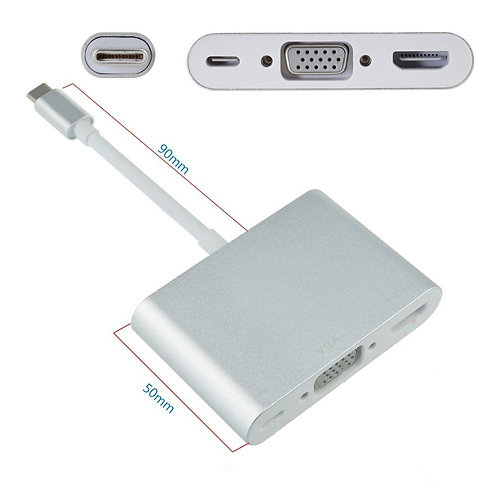 Adapter USB Typ C 5 in 1
