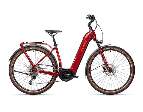 CUBE Touring Hybrid EXC 500 Easy Entry red´n´grey
