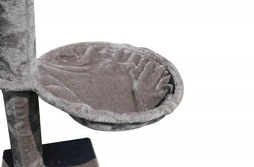 2x Körbchen für Katzenbaum grau 40 cm