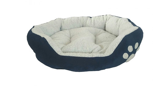 Katzenbett LUCKY blau