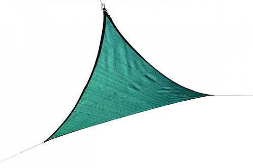 Sonnensegel Dreieck 3x3x3 m grün