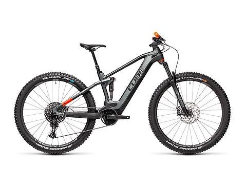 Cube Stereo Hybrid 120 TM 625 flashgrey´n´orange E-Bike Fully