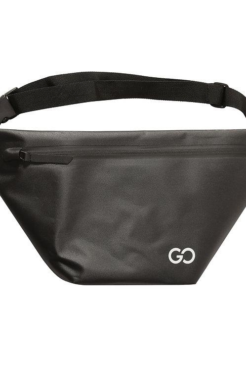 Dry Bag Bauchtasche wasserabweisend schwarz