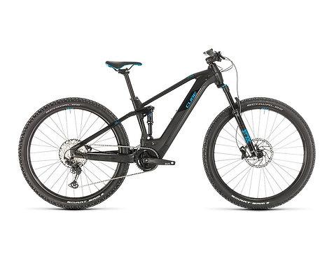 Cube Stereo Hybrid 120 Race 500 29 black´n´blue E-Bike Fully