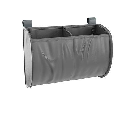 Aufbewahrungstasche für Babybett grau