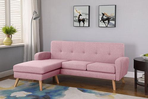 Ecksofa SALLY rosa