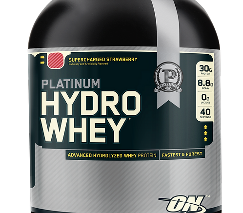 Optimum Nutrition HydroWhey Protein 1623 g Strawberry