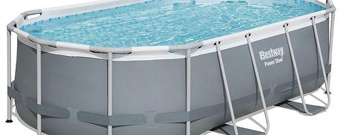 Bestway Swimming Pool Komplett-Set 427 x 250 x 100 cm