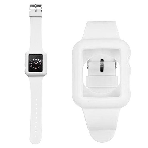 Armband Apple Watch 42 mm weiss