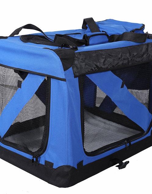 Hundebox faltbar XL blau