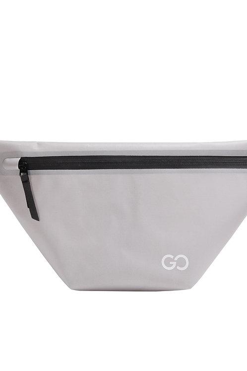 Dry Bag Bauchtasche wasserdicht grau