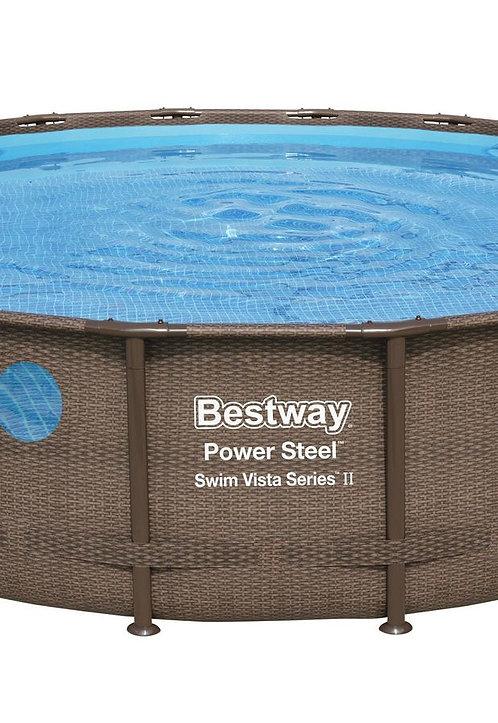 Bestway Swimming Pool Komplett-Set 549 x 122 cm