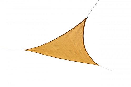 Sonnensegel Dreieck 6 x 6 x 6 m beige