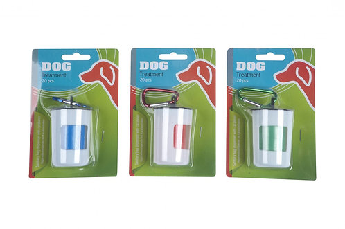 Hygienebeutelspender mit Karabinerhaken