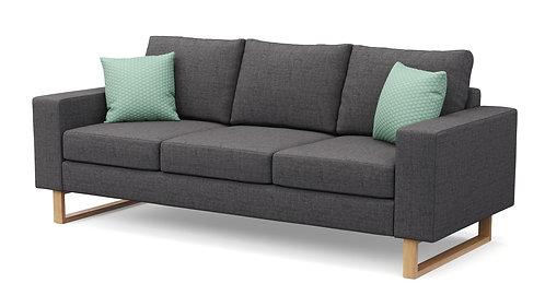 Sofa RONNY 3-Sitzer anthrazit