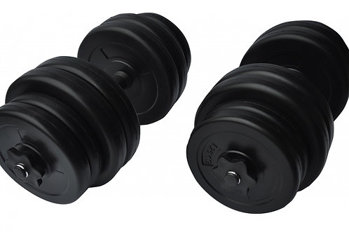 Kurzhantel 2 x 15 kg Set