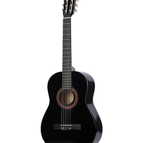 Akustische Gitarre schwarz