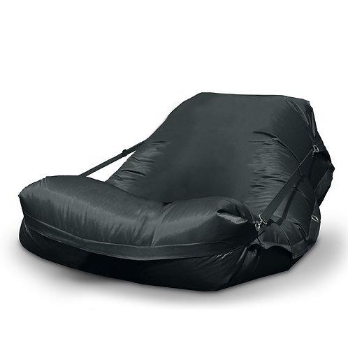 Sitzsack XXL schwarz inkl. Füllung